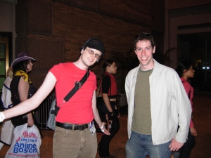 Scout from Team Fortress 2, and Eitan.
